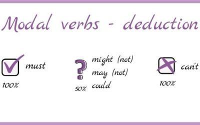 Kilka słów o dedukcji – czasowniki modalne