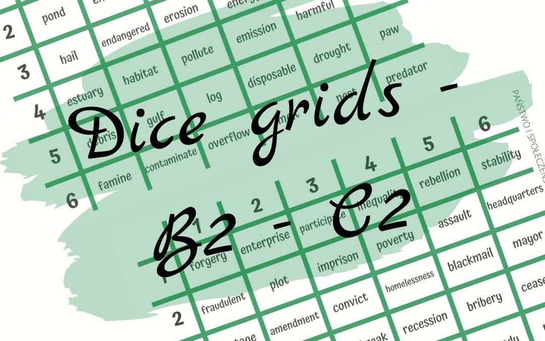 Dice grids – B2-C2