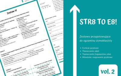 Funkcje jezykowe – STR8 TO E8! vol. 2