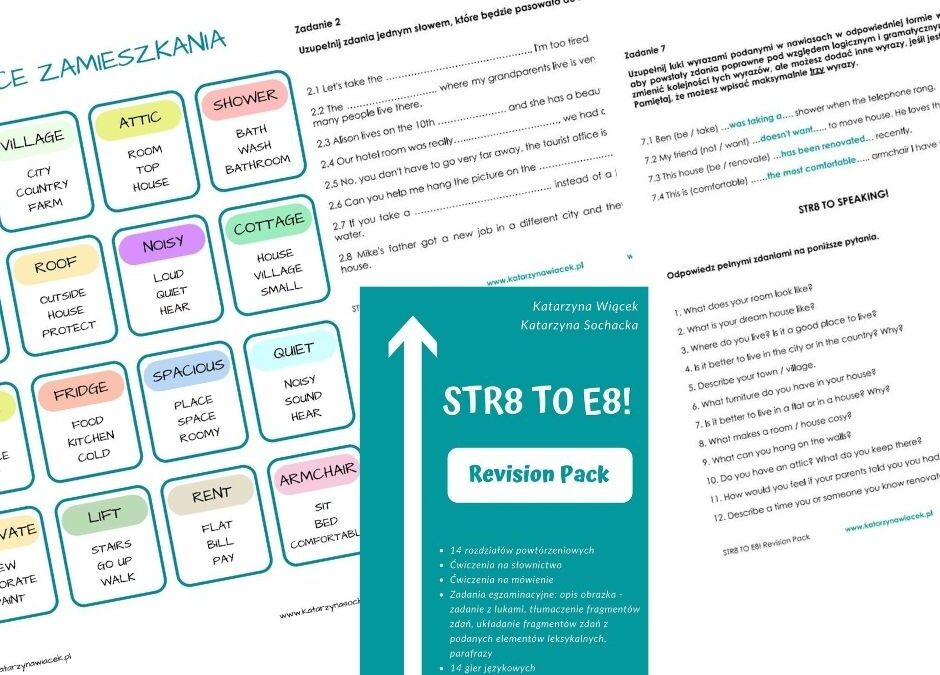 STR8 to E8! Revision Pack