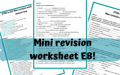 E8 mini worksheet